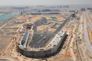 Yas Marina Circuit, Abu Dhabi 2009 Construction Images