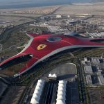 Ferrari World Abu Dhabi Aerial View
