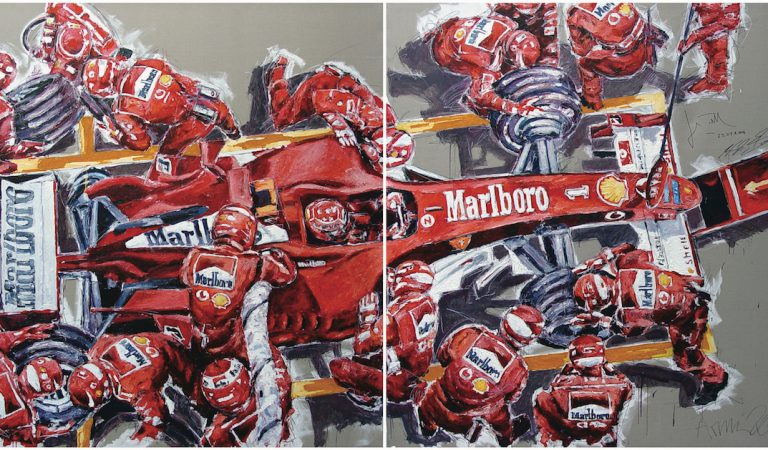 For The Love Of Speed! You Can Now See This Painter's Amazing Artworks