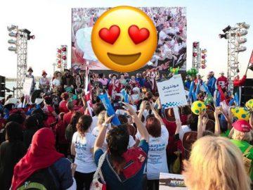 Yassalam events at Abu Dhabi Corniche