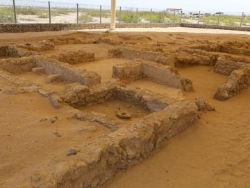 Christian Site on Sir Baniyas Island