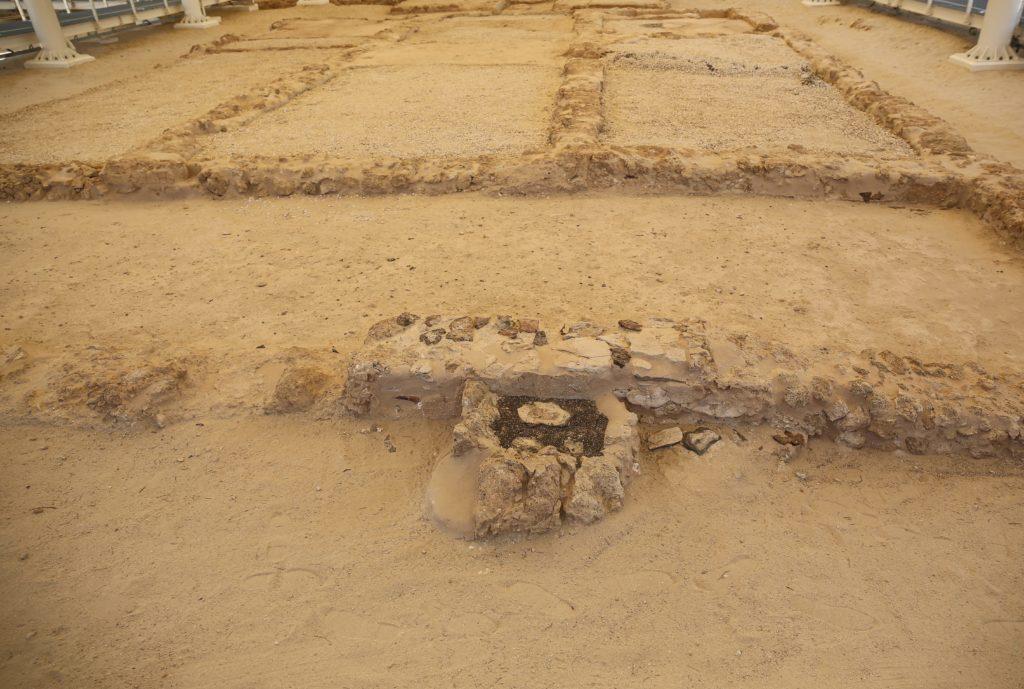 Christian Site In Sir Baniyas Island