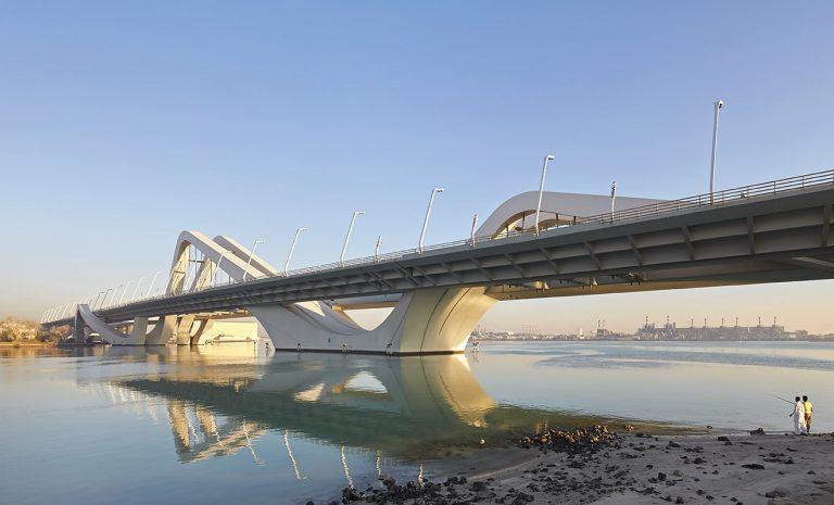 Toll At Sheikh Zayed Brige