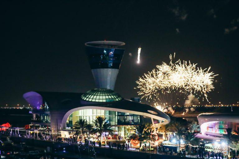 Yas Marina Fireworks