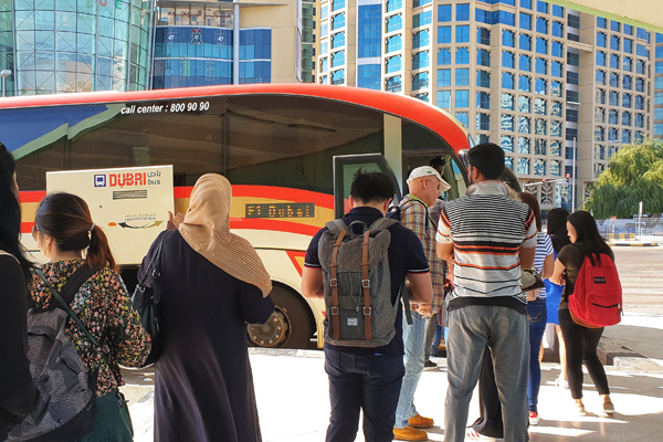 Commute From Abu Dhabi To Dubai With New Bus Route -