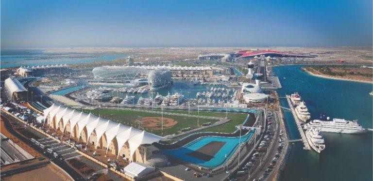Racing At Formula 1 Abu Dhabi