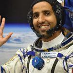 Hazza Al Mansouri in space