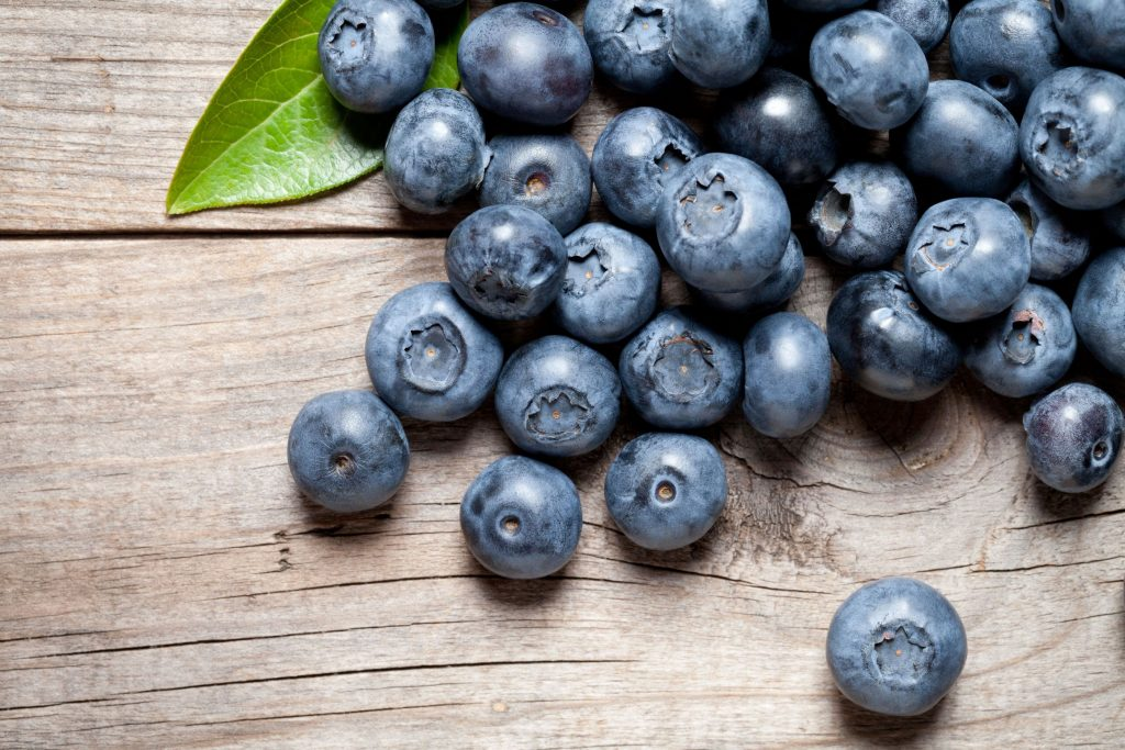 blue berries which are part of the vegan diet.