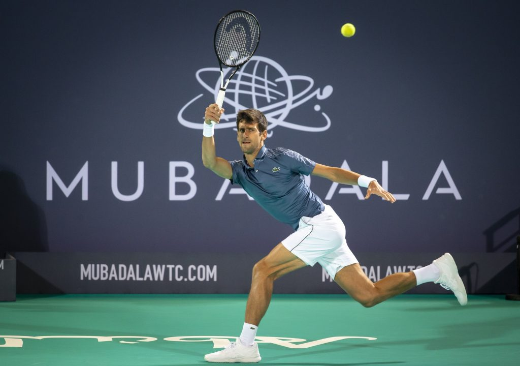 Mubadala World Tennis Championship taking place on 19th - 21st December.