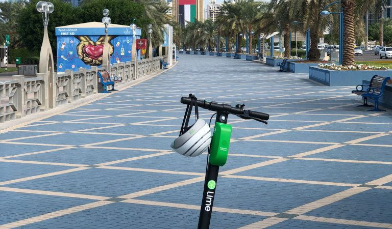 E-scooter Brand Lime Rides From USA To Abu Dhabi