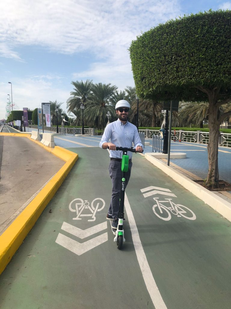 E-scooter brand Lime with General Manager