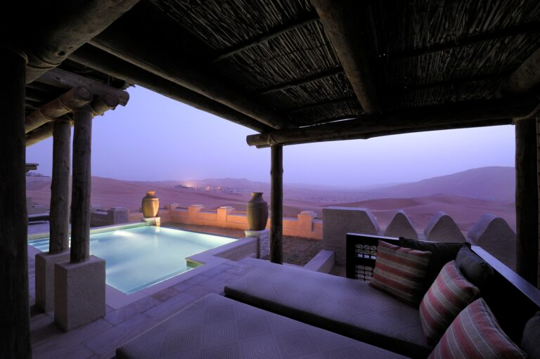 Beautiful experience at Qasr Al Sarab for the new year.