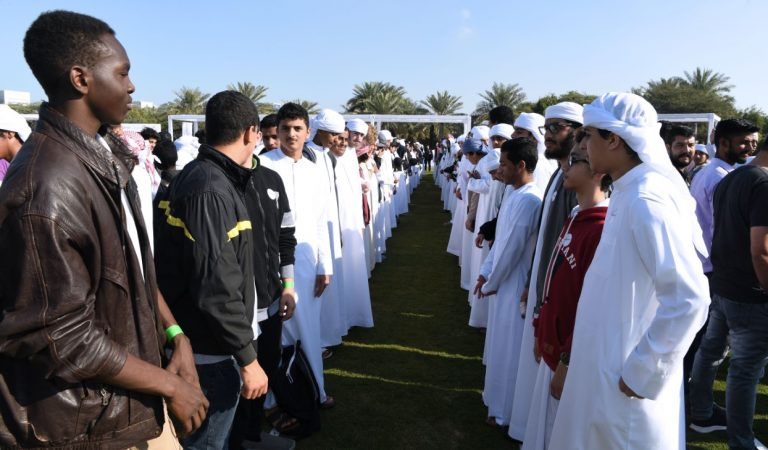 World's Longest Handshake Record Set In Abu Dhabi