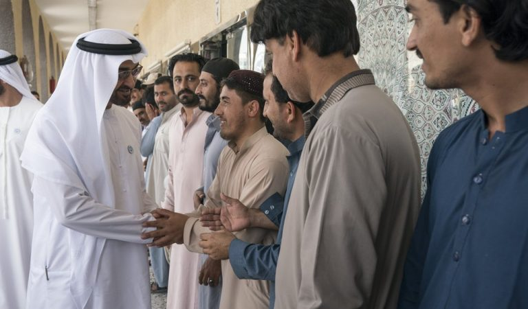 H.H. Sheikh Mohamed bin Zayed Al Nahyan Is A Man Of The People