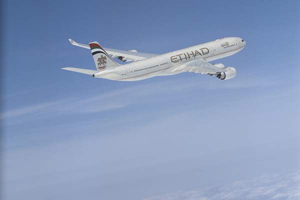 Abu Dhabi Sustainable Week, Etihad Airways implementing green initiatives.
