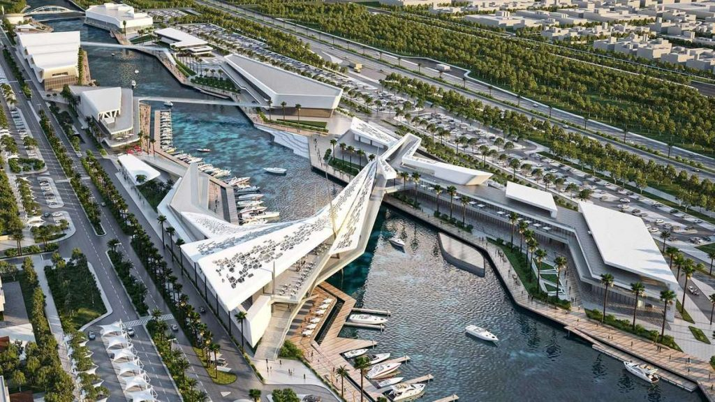 Residents & Tourists will be amazed by the National Aquarium at Al Qana.