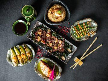 Japanese food at Tokyo Grill