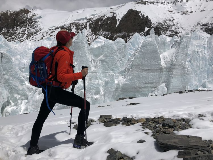 First Arab Woman to climb the everest