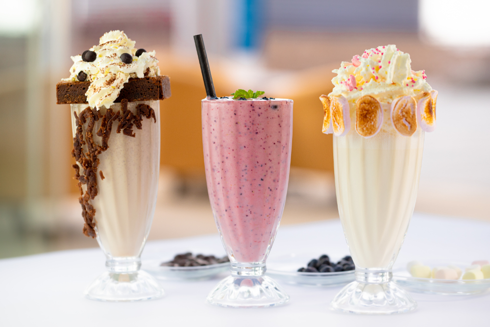 Treat your self with one of these milkshakes from Eatathome