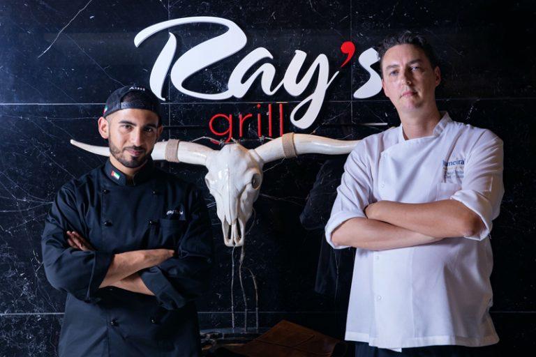 Emirati Chef Khaled at Ray's Grill