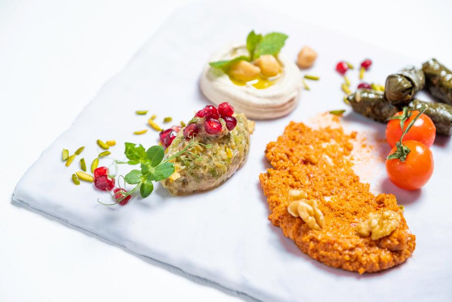 Dish prepared for Iftar Box from Sofitel Abu Dhabi