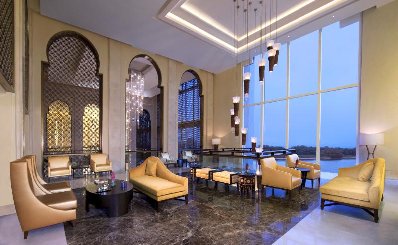 Lobby lounge at Anantara Eastern Mangroves