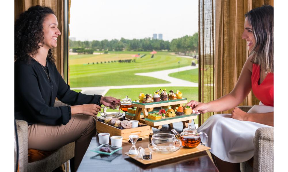 Afternoon tea at The Westin Abu Dhabi