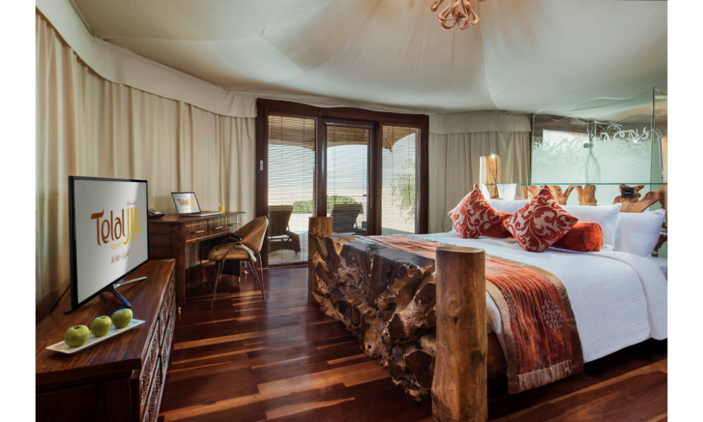 Beautiful rooms at Telal Resort