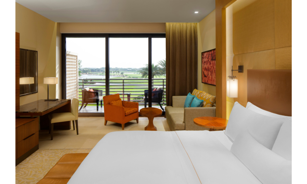 Deluxe room at The Westin Abu Dhabi