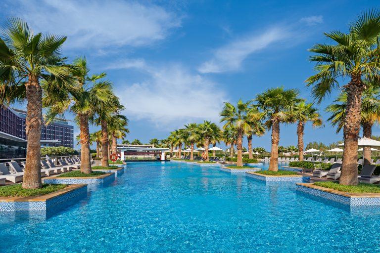 Staycation at Marriott Al Forsan