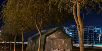 NYUAD Art gallery hosts an event
