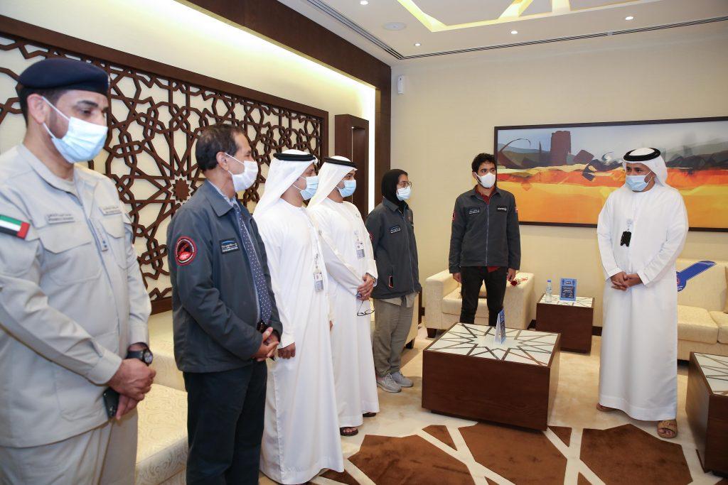 UAE Hope Probe Team