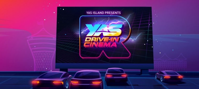 Drive-in Cinema on Yas Island