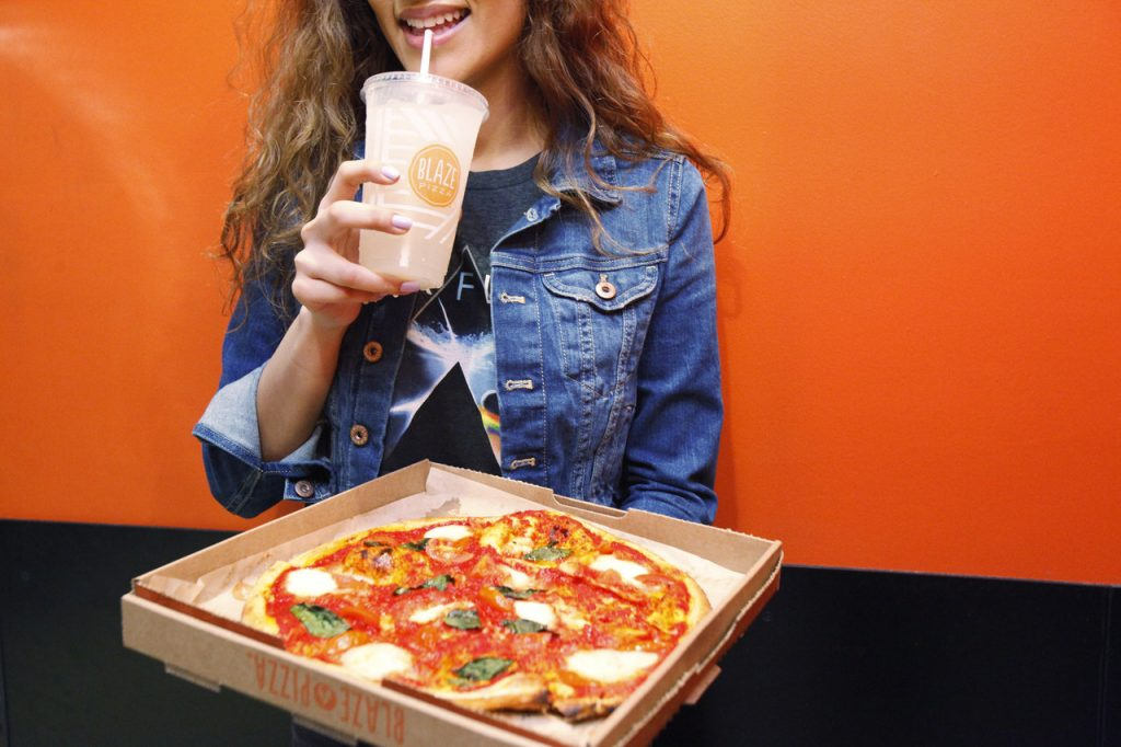 The Galleria Al Maryah Island Blaza Pizza