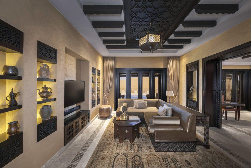 Living room in the Royal Pavillion