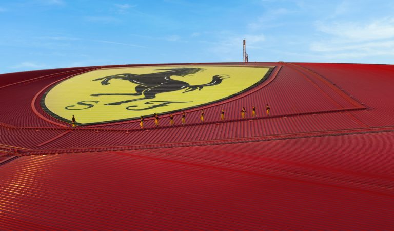 Roof Walk And Zip Line Experience At Ferrari World Abu Dhabi