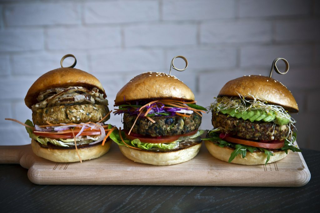 Gluten Free Burgers at Cafe 302