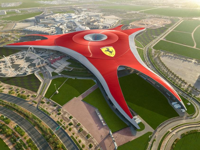 Yas Theme Parks - Ferrari World Abu Dhabi
