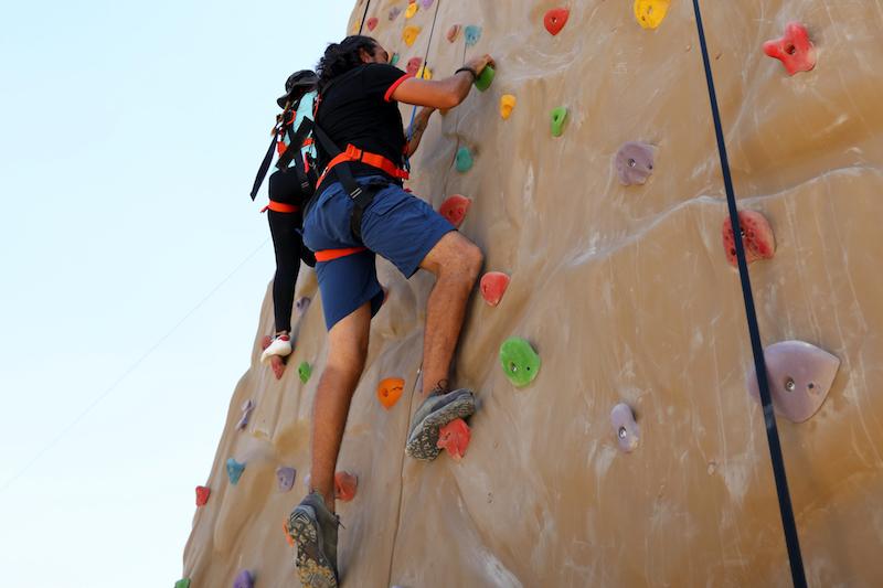 Rock Climbing at Hudayriat Island