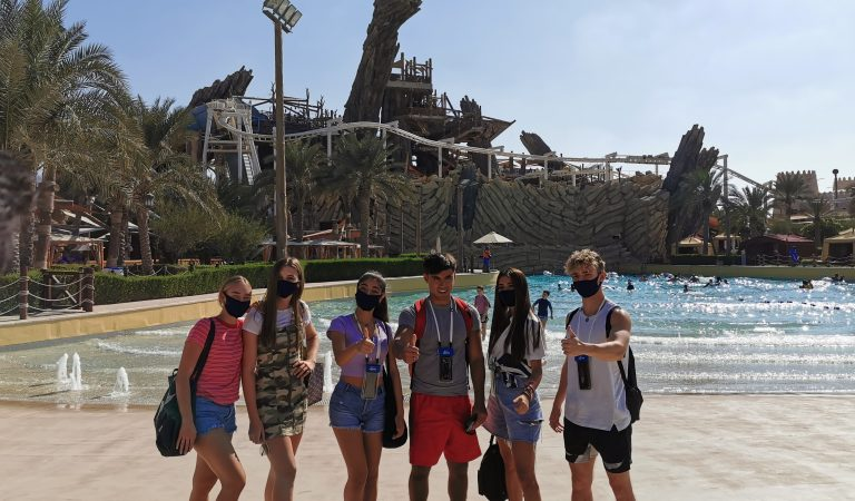 World Famous Pop Sensation 'Now United' At Yas Waterworld Abu Dhabi