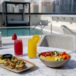 Pool side at courtyard by Marriott WTC