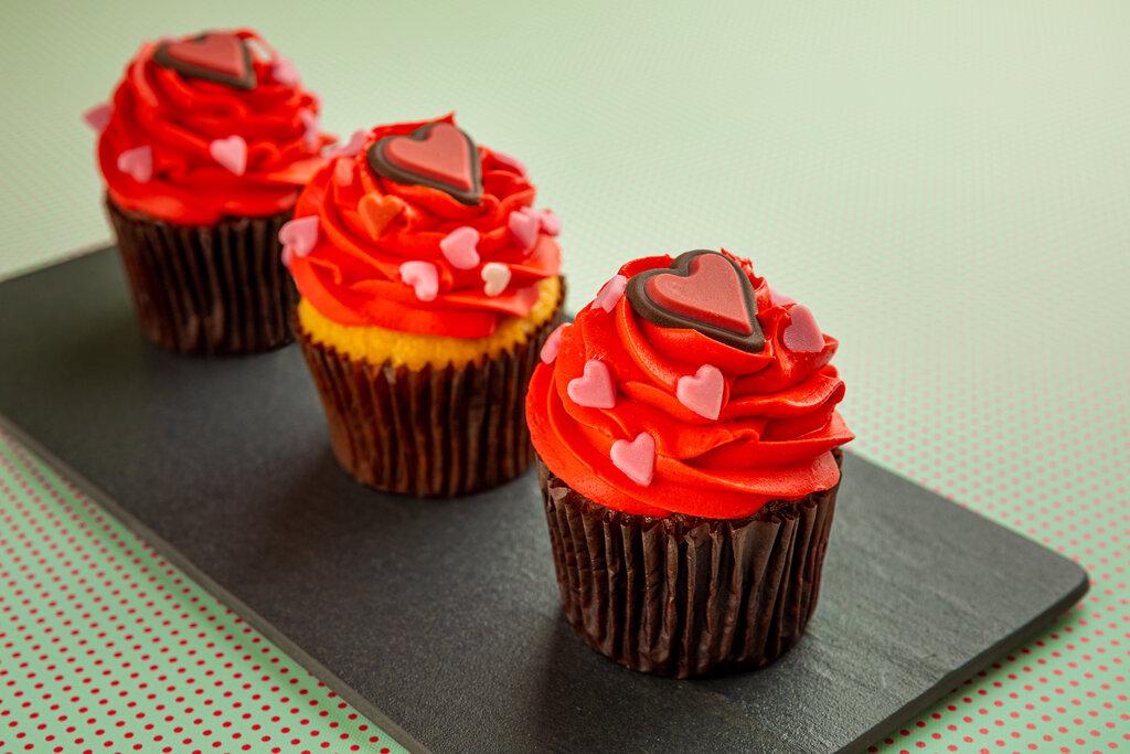 Cupcakes at La Brioche