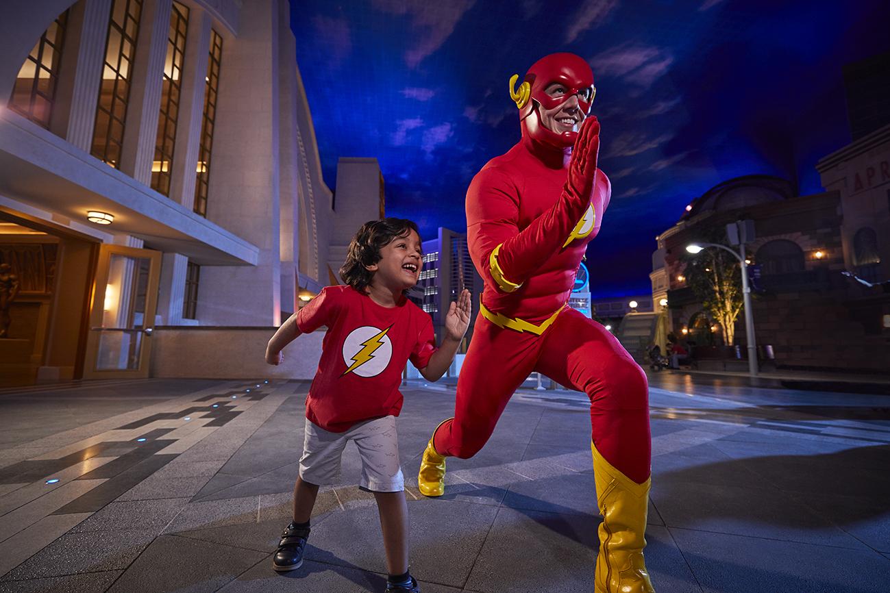 Flash at Warner Bros. World™ Abu Dhabi
