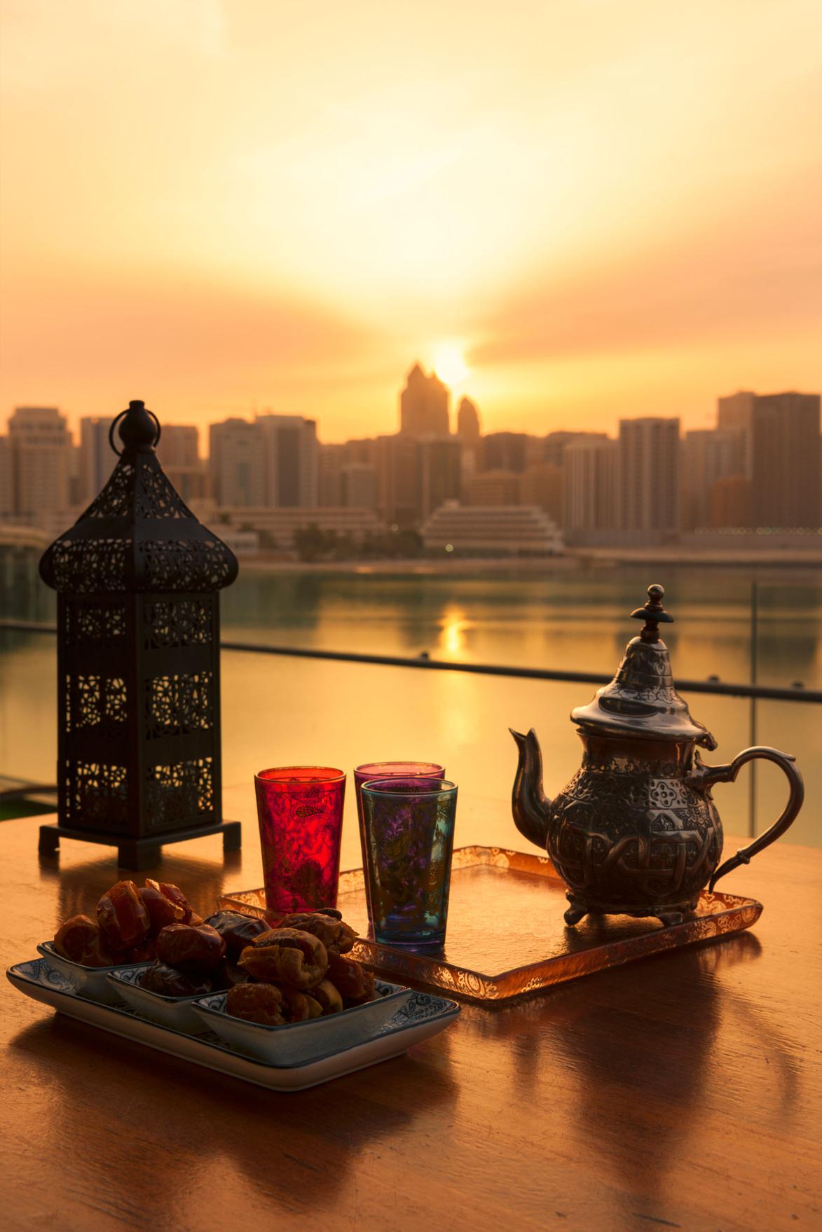 Evening Sunset in Abu Dhabi