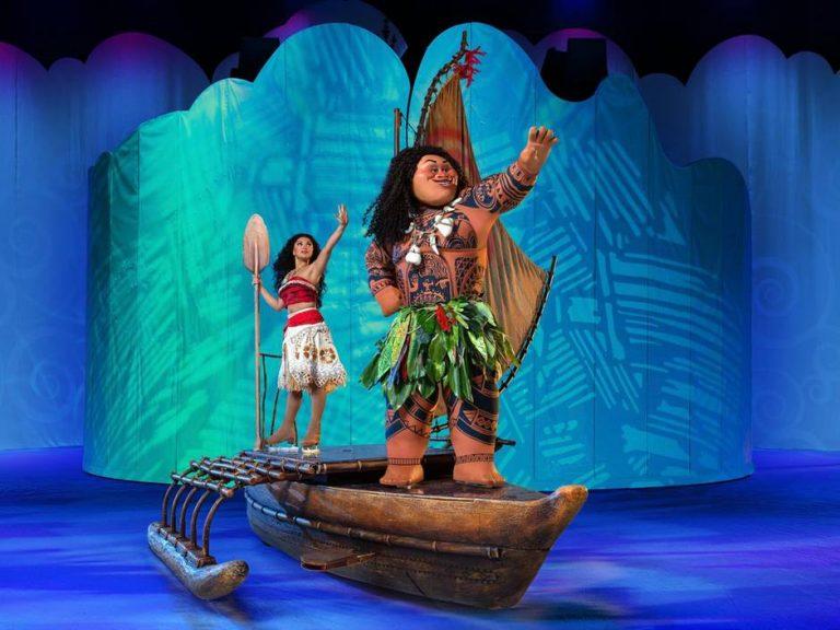 Moana from Disney On Ice