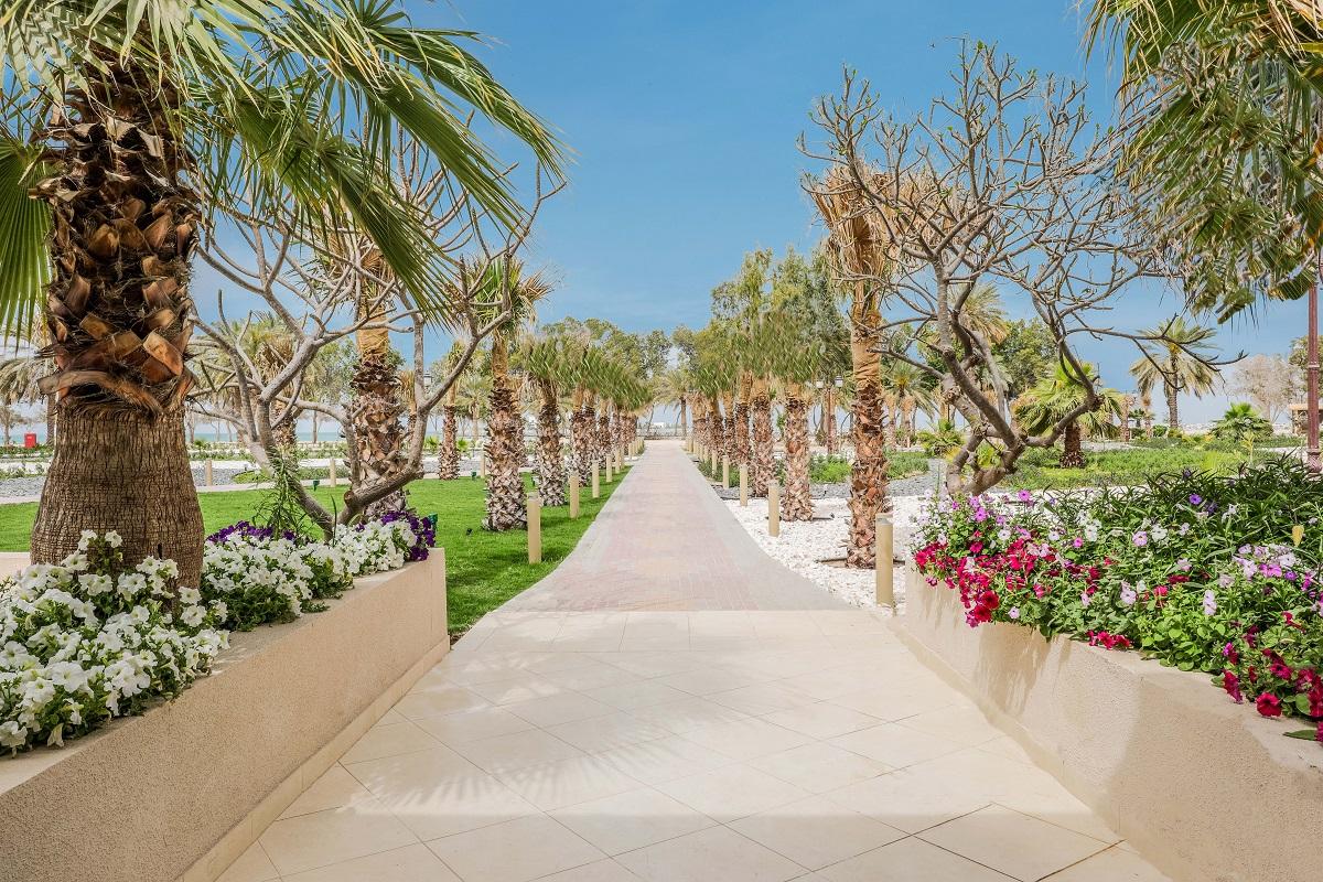 Garden view of Al Dhafra