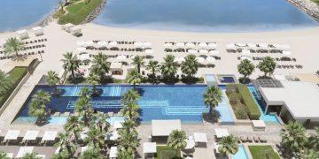Pool view of Fairmont Bab Al Bahr