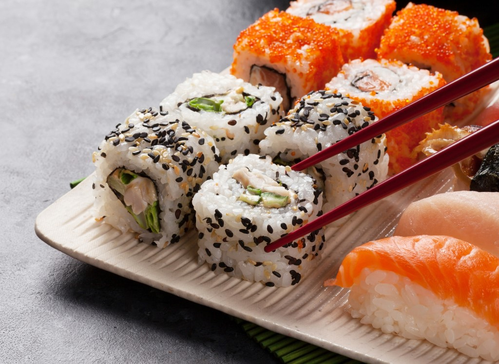 Sushi time at Conrad Abu Dhabi