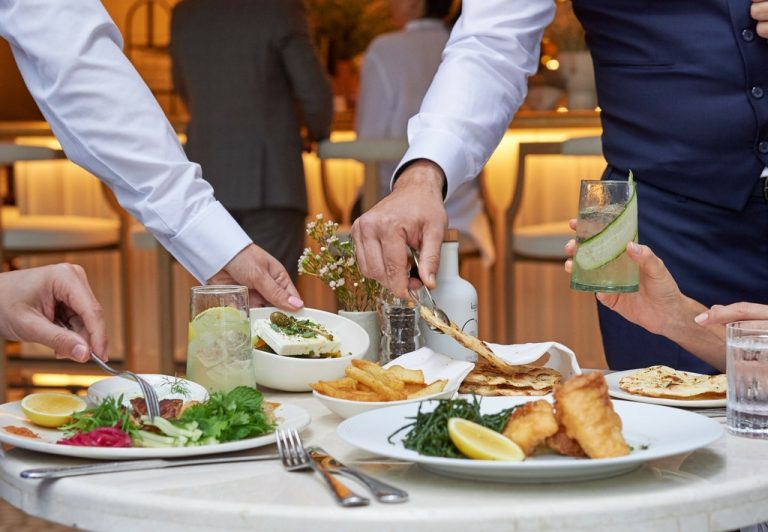 Business Lunch in Abu Dhabi