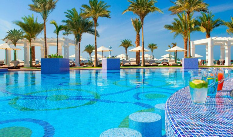 Work on your swimming skills at the Nation Riviera Beach Club